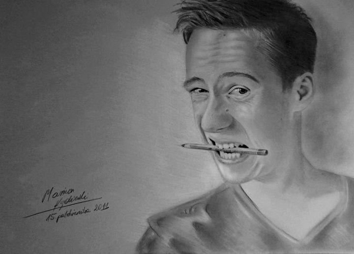 """Self portrait, 2011"""