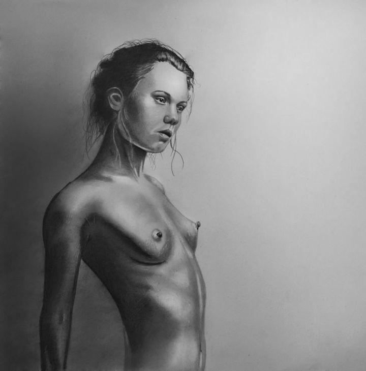 """Undressed portrait, 2014"""