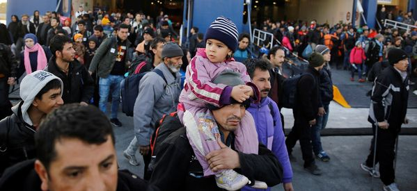 Greece's Economy Crushed Between Austerity And The Refugee Crisis