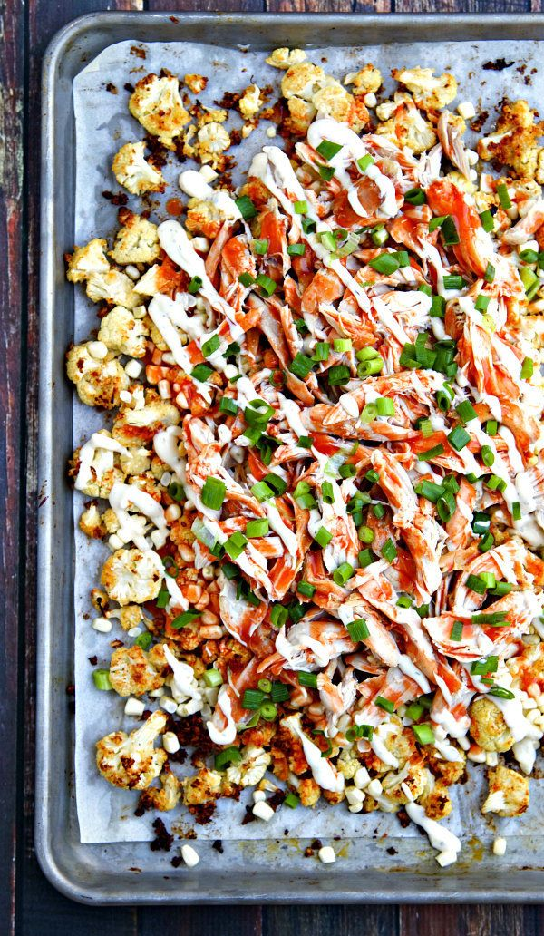 "<strong>Get the <a href=""http://www.thewickednoodle.com/buffalo-ranch-roasted-cauliflower-nachos/#_a5y_p=3930199"" target=""_bl"