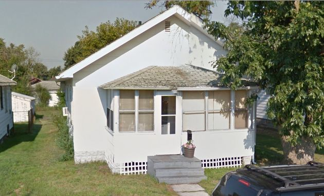A home believed by many to be haunted by evil spirits in Gary, Indiana, was recently