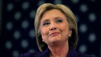 HAMPTON, NH - FEBRUARY 02:  Democratic presidential candidate, former Secretary of State Hillary Clinton looks on during a campaign event at Winnacunnet High School on February 2, 2016 in Hampton, New Hampshire.  A day after narrowly defeating Sen. Bernie Sanders (I-VT) in the Iowa caucus, Clinton is campaigning in New Hampshire a week ahead of the state's primary.  (Photo by Justin Sullivan/Getty Images)
