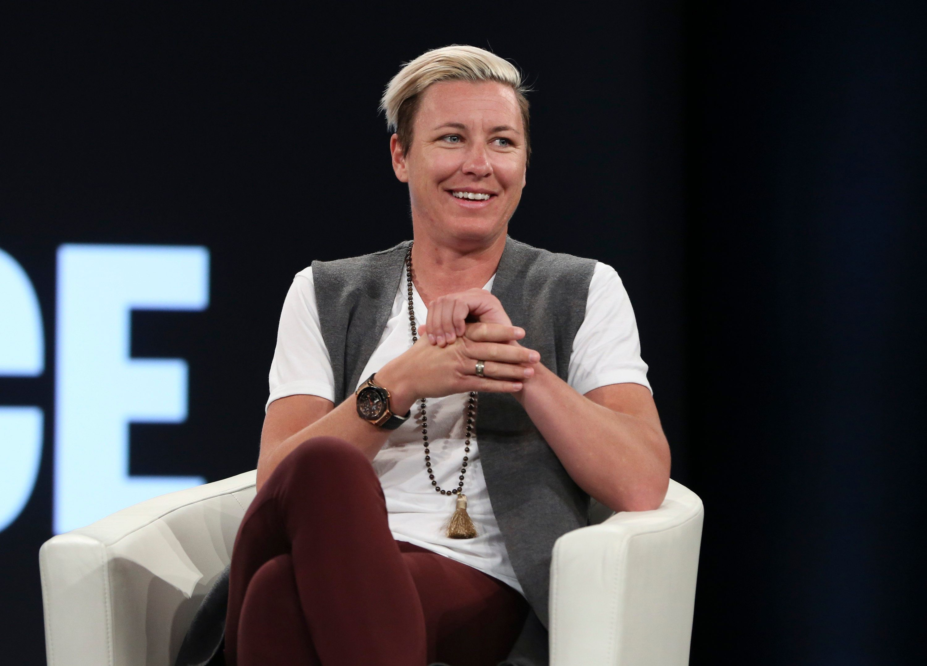 Abby Wambach opened up about her post-soccer plans at the MAKERS Conference.