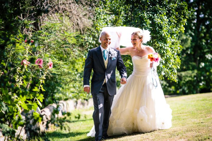 Marrianne Mercer and David Miall married in the ultimate DIY wedding in August 2013.