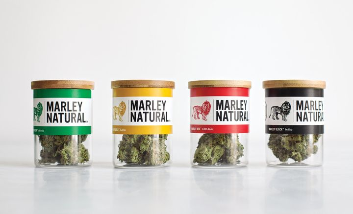 Marley Natural cannabis flowers come in five different strains with varying levels of potency whose effects range from anti-i