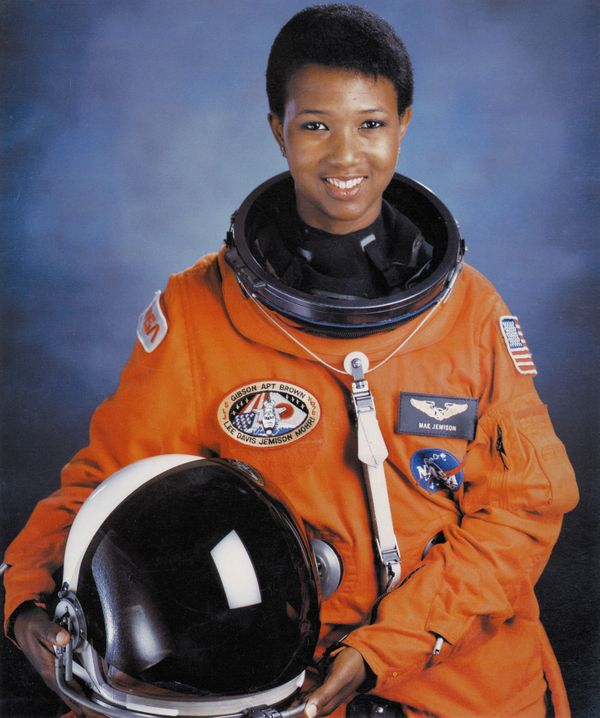 Dr. Jemison is the first black woman to be admitted into the astronaut training program and fly into space in 1987. Jemi