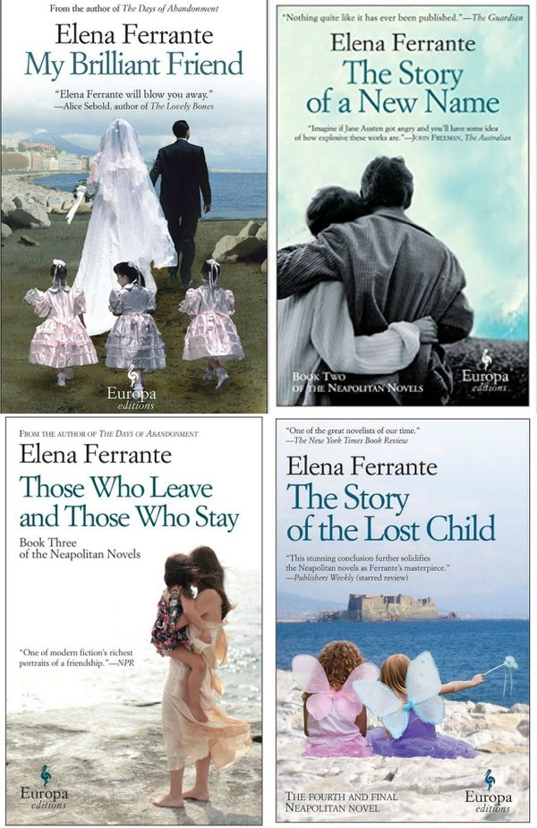 This is a four-fer! The Neapolitan novels by Elena Ferrante are the literary world's current obsession, and they're packed wi