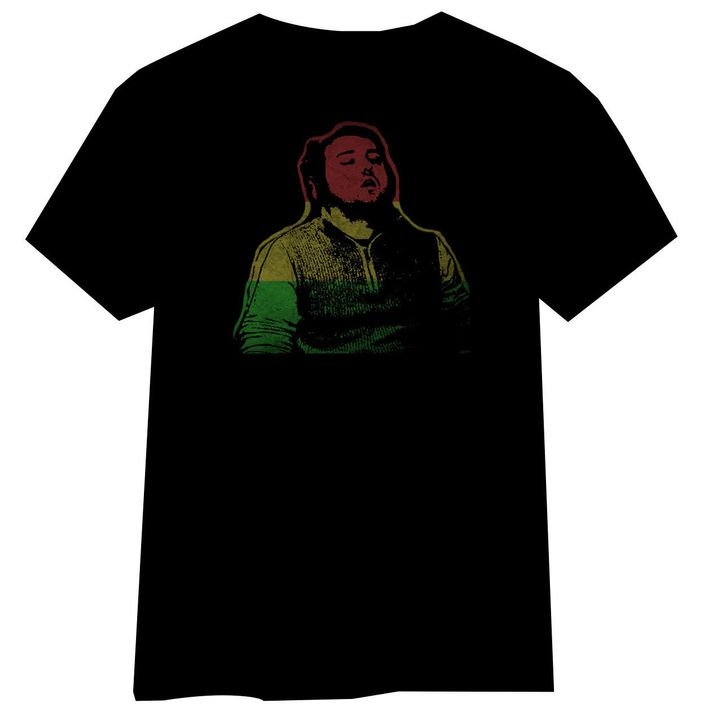 Guy Who Fell Asleep At Work as a Bob Marley T-Shirt.
