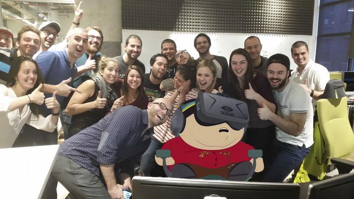 Guy Who Fell Asleep At Work as Cartman.