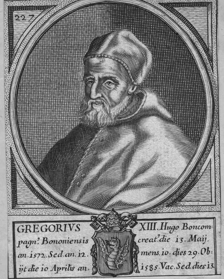 Pope Gregory XIII made Mardi Gras an official holiday in 1582.