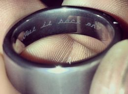Prankster Wife Engraved Husband's Wedding Ring With This Cheeky Message