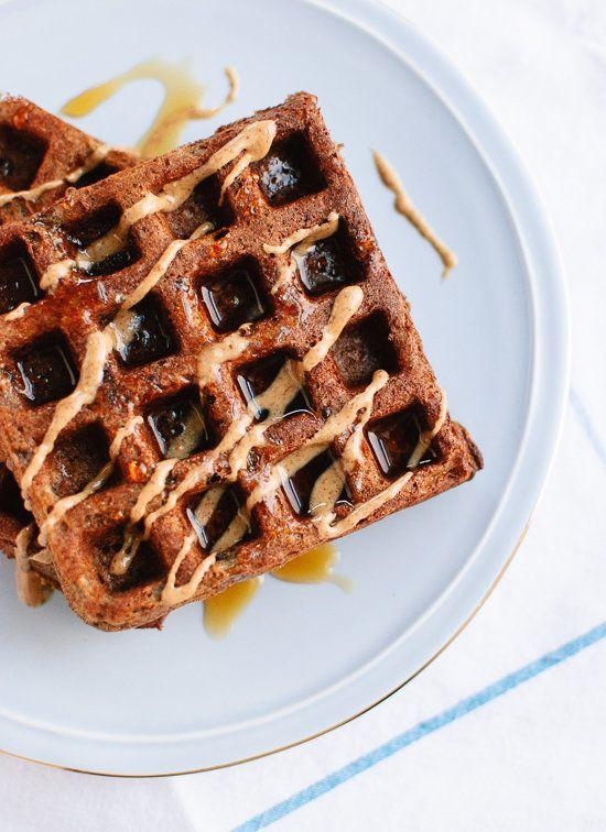 """<strong>Get the <a href=""""http://cookieandkate.com/2015/gluten-free-buckwheat-waffles/"""" target=""""_blank"""">Gluten-Free Buckwheat"""