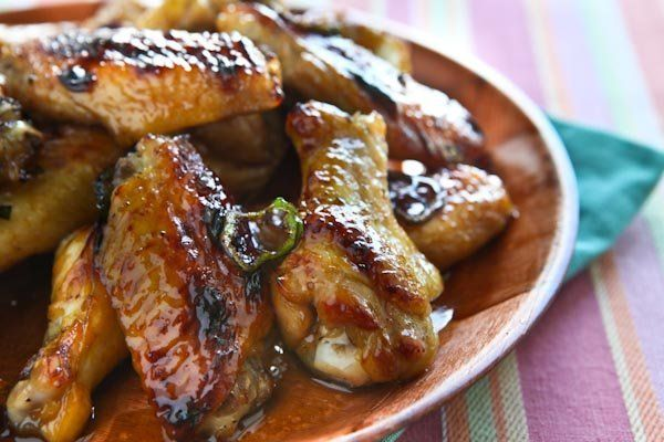 """<strong>Get the <a href=""""http://www.steamykitchen.com/9167-cola-glazed-baked-wings.html"""" target=""""_blank"""">Cola Glazed Baked Wi"""