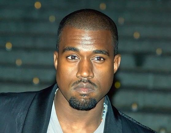 Kanye West shows the classic signs of resting bitch face.