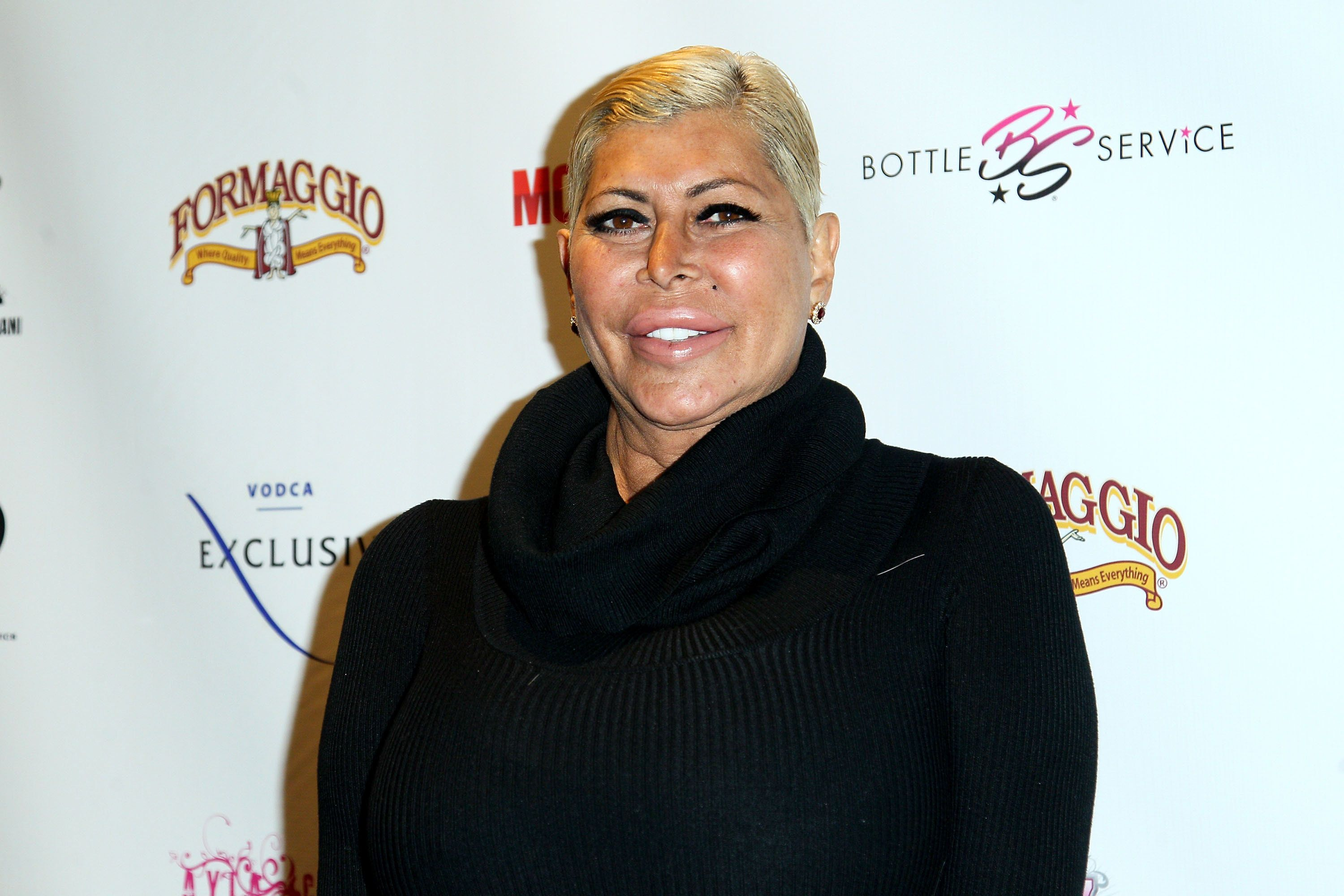 STATEN ISLAND, NY - JANUARY 13:  Big Ang attends Mob Wives 'The Last Stand' Season 6 Viewing Party at Funky Monkey Lounge on January 13, 2016 in Staten Island, New York.  (Photo by Steve Mack/Getty Images)