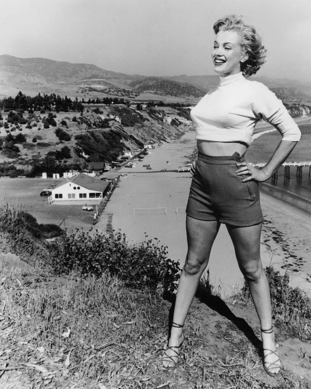 Marilyn Monroe in California, circa 1953.
