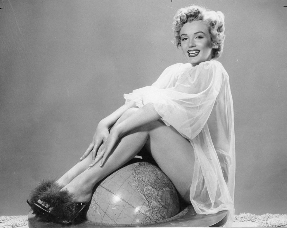 Marilyn Monroe, circa 1961.