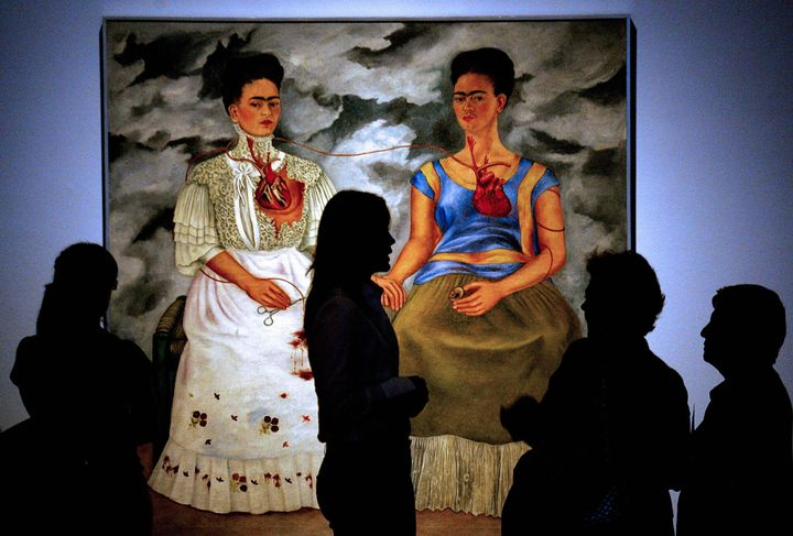 Gallery view of <i>Two Fridas</i> by Frida Kahlo&nbsp;