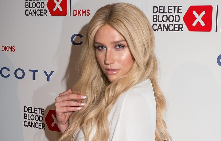 Singer Kesha attends the 9th Annual Delete Blood Cancer Gala at Cipriani, Wall Street on April 16, 2015 in New York City.