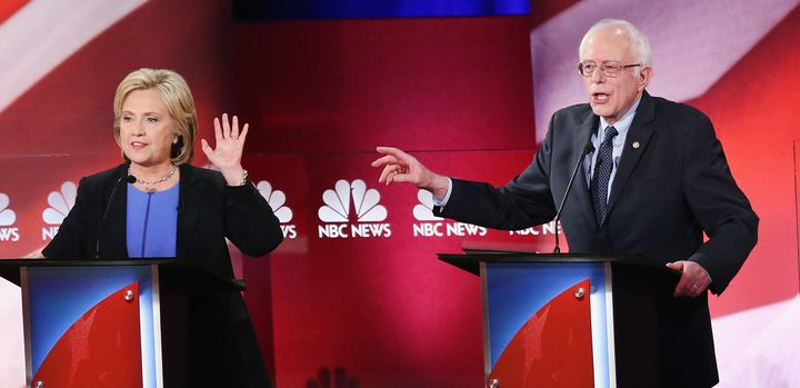 Sen. Bernie Sanders (I-Vt.) and former secretary of state Hillary Clinton have illuminated a deep rift within the Democratic
