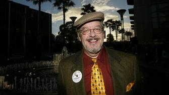LOS ANGELES - OCTOBER 20:  Joe Alaskey, the voice of Daffy Duck, attends the 'Daffy Duck for President Campaign Rally' press conference to celebrate the release of the Looney Tunes Golden Collection Volume Two DVD at Sherman Oaks Galleria October 20, 2004 in Los Angeles, California. (Photo by Mark Mainz/Getty Images)