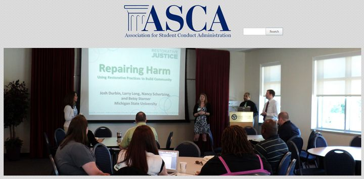 The Association for Student Conduct Administration has been rocked by a sexual assault allegation from one board member against another.