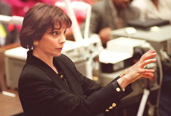 Deputy District Attorney Marcia Clark on July 6, 1995.