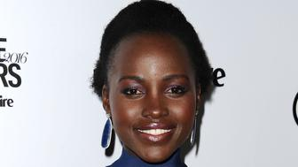 LOS ANGELES, CA - JANUARY 12:  Actress Lupita Nyong'o attends the Marie Claire Image Maker Awards 2016 at Chateau Marmont on January 12, 2016 in Los Angeles, California.  (Photo by Jason LaVeris/FilmMagic)