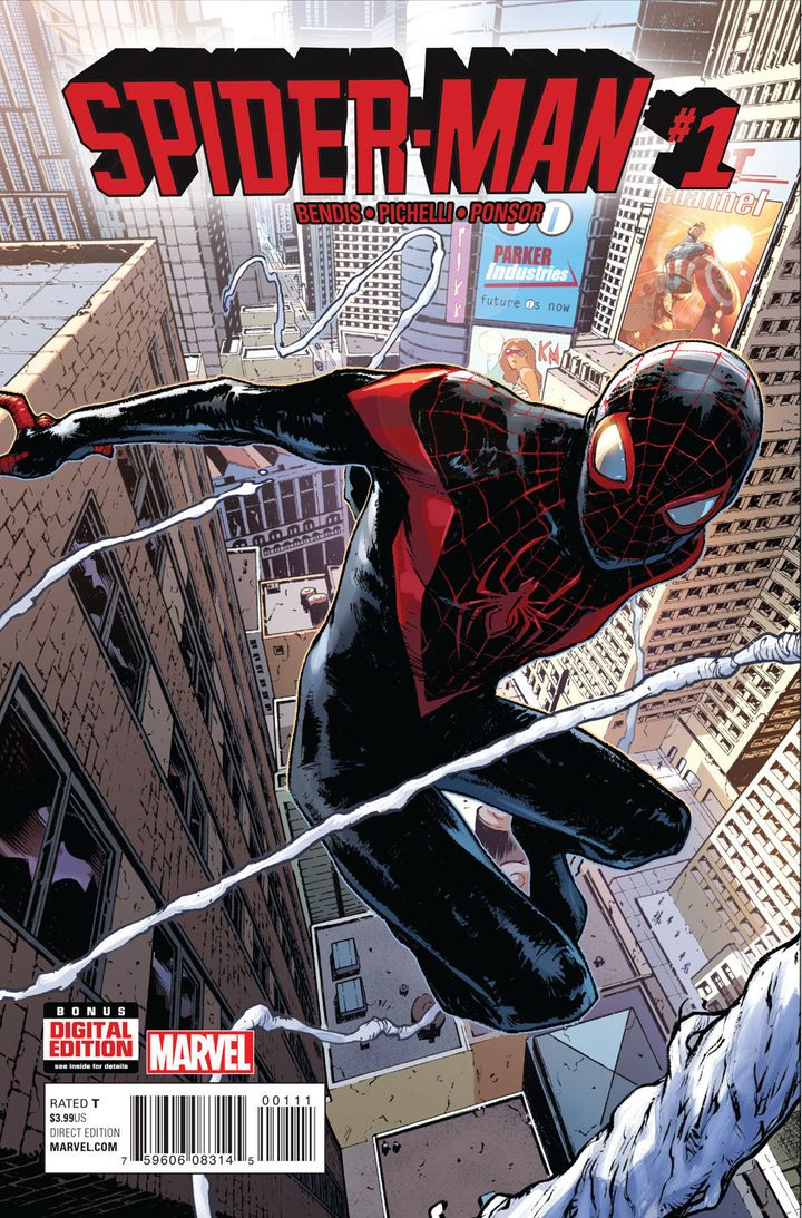 "Marvel released <a href=""https://comicstore.marvel.com/Spider-Man-2016-1/digital-comic/41075"" target=""_blank"">their first Spi"