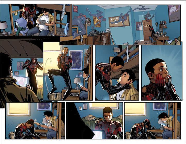 """The <a href=""""https://comicstore.marvel.com/Spider-Man-2016-1/digital-comic/41075"""" target=""""_blank"""">new series</a> is drawn by"""