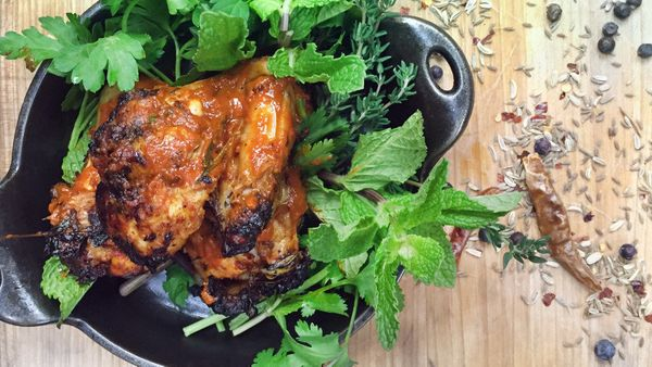 Tunisian wings may sound a bit unusual yet there's a familiarity to this recipe from Timon Balloo, executive chef at <a href=