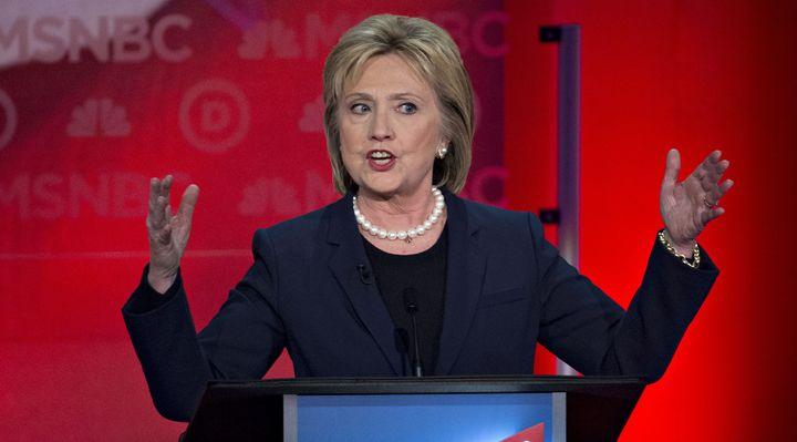 Hillary Clinton might not have been quite as tough on Wall Street as she has suggested.