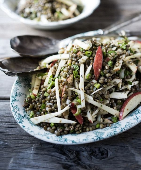 "<strong>Get the <a href=""http://www.feastingathome.com/celeriac-lentil-and-apple-salad-w-cumin-seed-dressing/"" target=""_blank"