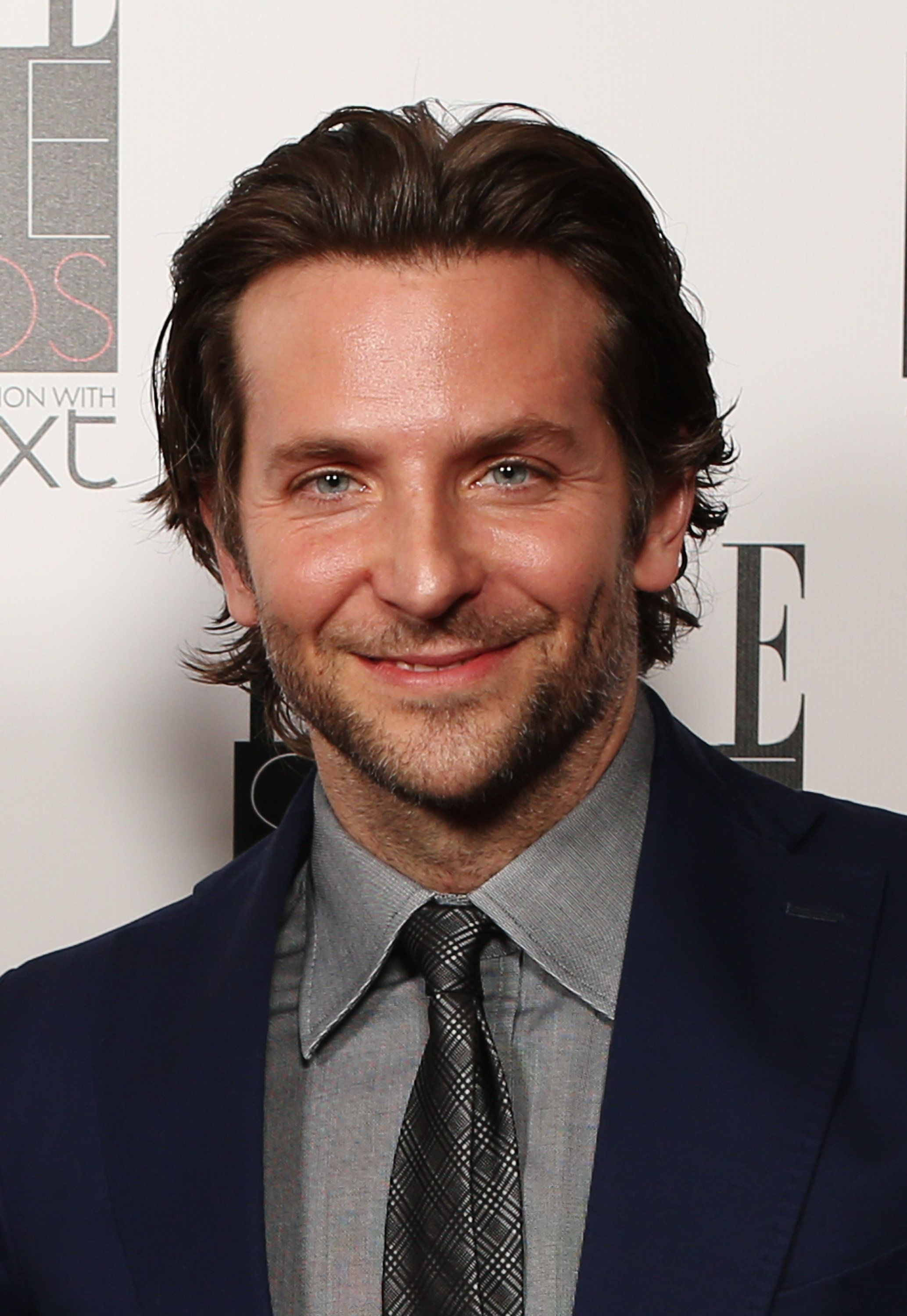 """""""Bradley Cooper has a masculine face and always has a beard. Seeing great brows like his can make a guy look like he has a great head of hair,"""" said Jennings."""