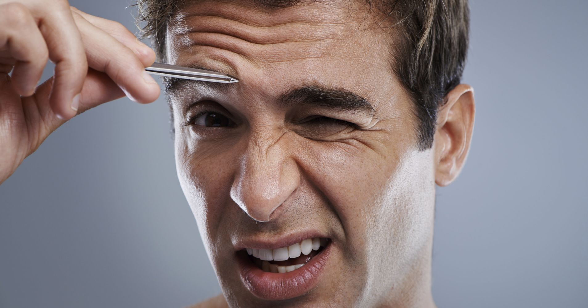 A Mens Eyebrow Grooming Guide In 6 Easy Steps Huffpost Life