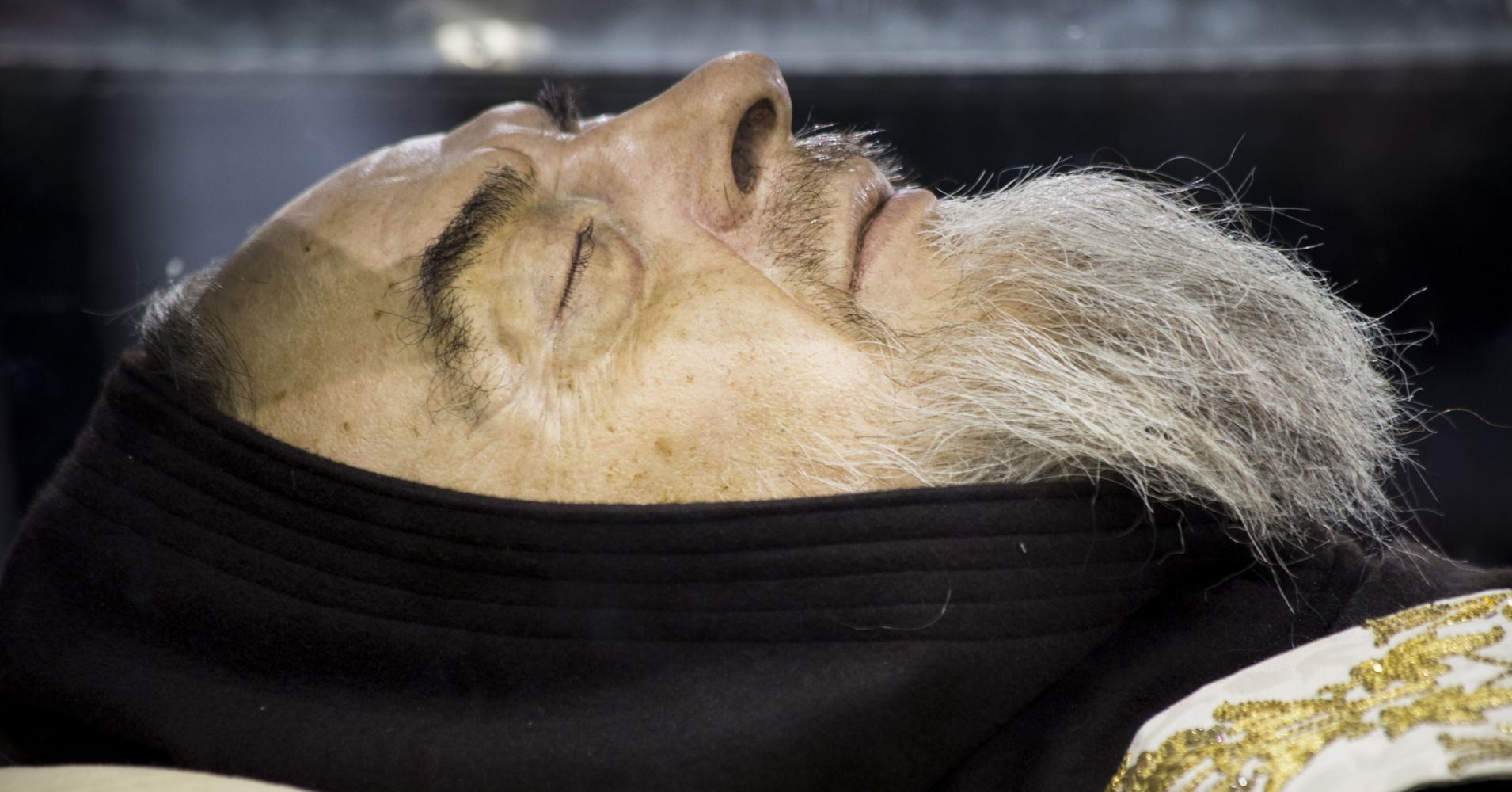heres why the preserved body of this catholic saint is