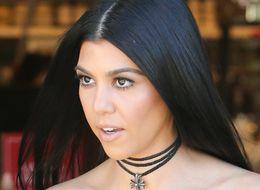 Kourtney Kardashian Looks Like A Million Bucks In A $34 Top