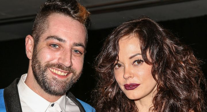 The first time's not the charm: Rose McGowan and husband Davey Detail are getting a divorce.