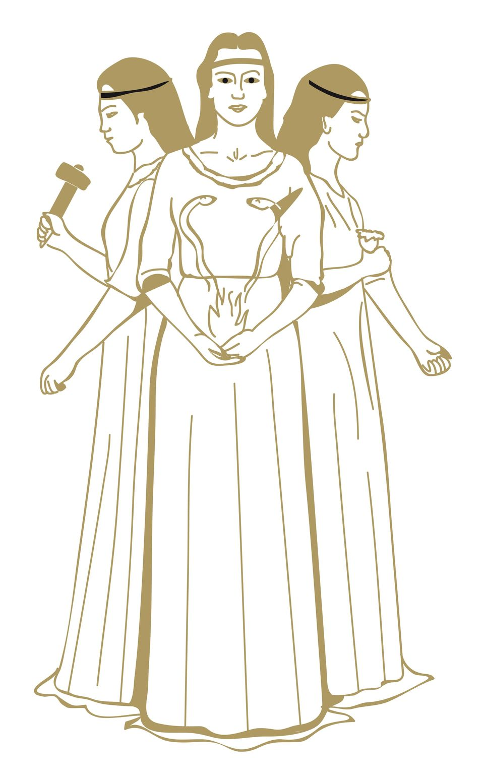 "Brigid is a <a href=""http://www.maryjones.us/jce/brigit.html"" target=""_blank"">Celtic goddess</a> revered for her many talents"