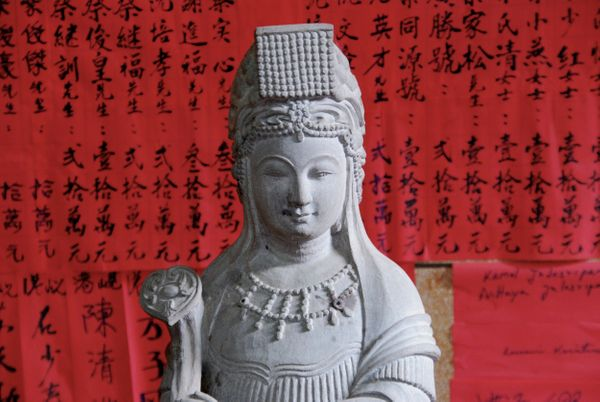 "Mazu is a <a href=""http://www.chinaculture.org/gb/en_chinaway/2003-12/03/content_44410.htm"" target=""_blank"">Chinese Buddhist"