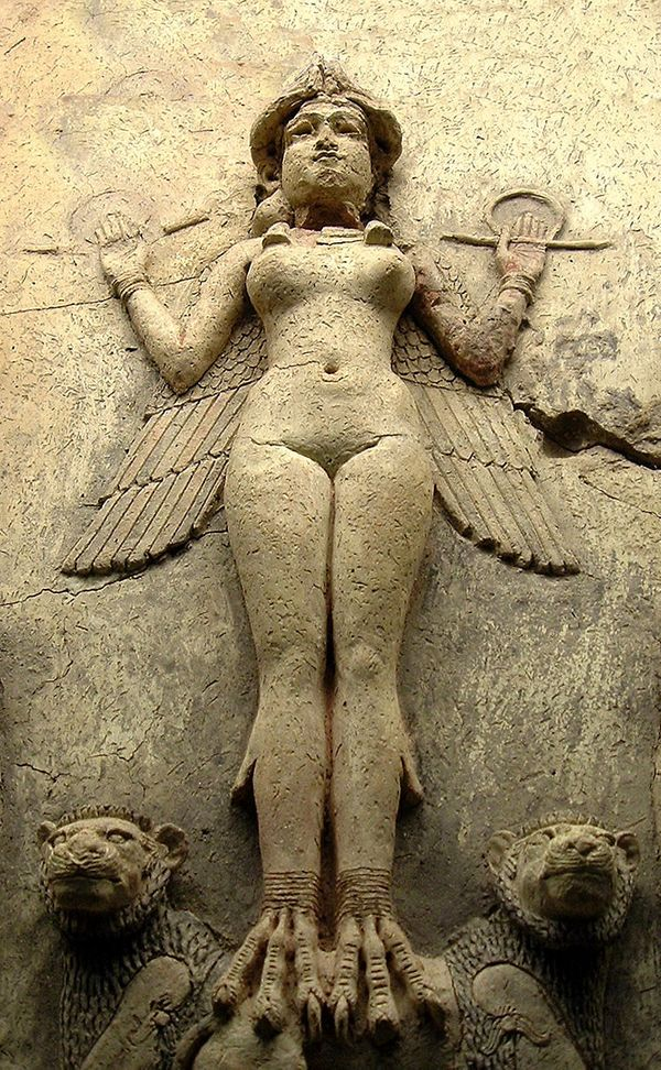 "Inanna is the <a href=""http://www.ancient.eu/Inanna/"" target=""_blank"">Sumerian goddess</a> of sexual love and procreation, ca"