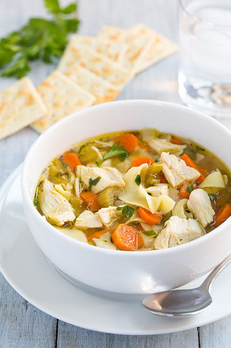 "<strong>Get the <a href=""http://www.cookingclassy.com/2013/11/slow-cooker-chicken-noodle-soup/"" target=""_blank"">Slow Cooker C"