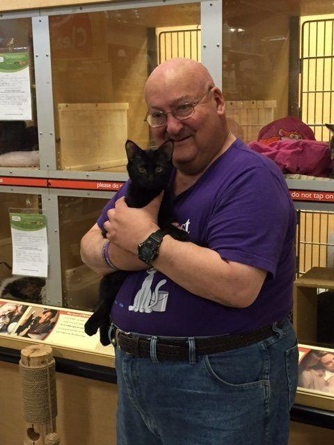 Schallman said he and Blake bonded at the animal shelter.
