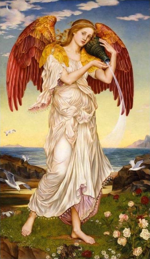 "Eos is the <a href=""http://www.britannica.com/topic/Eos-Greek-and-Roman-mythology"" target=""_blank"">Greek goddess</a> of the d"