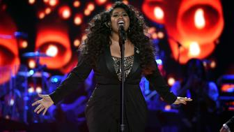 LAS VEGAS, NV - NOVEMBER 06:  Recording artist Jazmine Sullivan performs onstage during the 2015 Soul Train Music Awards at the Orleans Arena on November 6, 2015 in Las Vegas, Nevada.  (Photo by Ethan Miller/BET/Getty Images for BET)