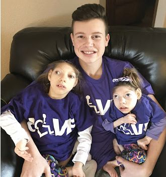 Claire, Cal and Lola celebrating The International Day of Acceptance