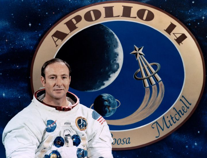 "Edgar Mitchell was passionate about what he described as a ""universal connectedness."""