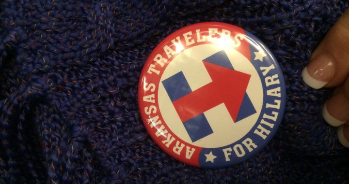 Eighty-six Arkansas Travelers are in New Hampshire campaigning for Hillary Clinton.