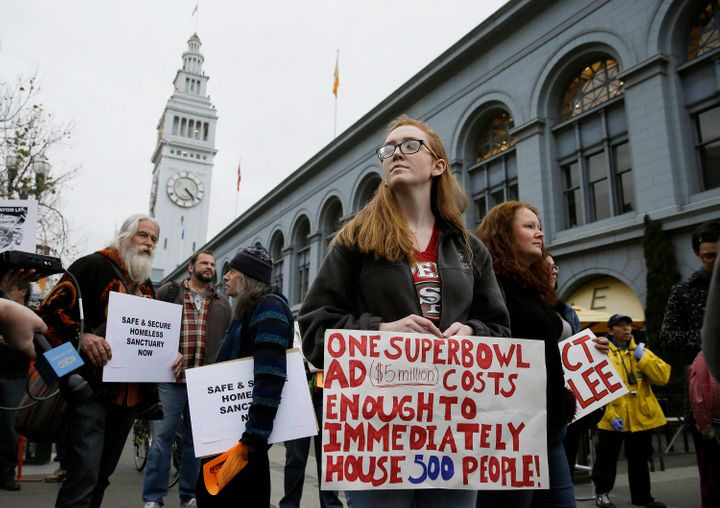 San Francisco has been at the forefront of the criminalization that's happening against homeless people, according to advocat