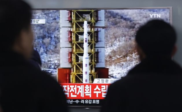 North Korea Launches Long-Range Rocket It Says Is Carrying